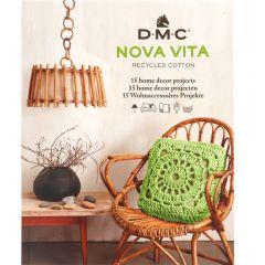 DMC Nova Vita Buch m. Anleitungen 15 Designs EN-NL-DE - 1Stk