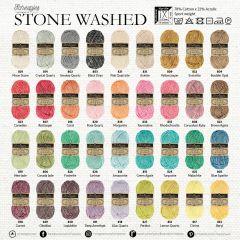 Scheepjes Stone Washed Sortiment 5x50g - 36 Farben - 1Stk