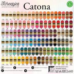 Scheepjes Catona Sortiment 5x50g - 109 Farben - 1Stk