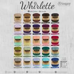 Scheepjes Whirlette Sortiment 2x100g - 25 Farben - 1Stk