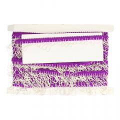 Band mit Kette elastisch farbig - 10m