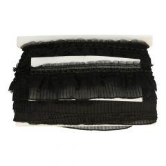 Band breit Rüschen Nylon 80mm - 20m