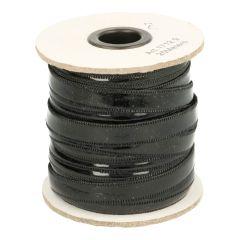 Lackleder-Band glatt 10mm - 25m