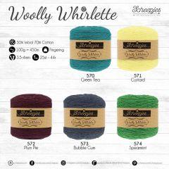 Scheepjes Woolly Whirlette Sortiment 5x100g - 5 Farb. - 1Stk