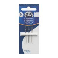 DMC Chenille Nadeln Nr. 24 - 12x6Stk