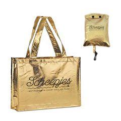 Scheepjes Faltbare Tasche gold 46x37cm - 12stk