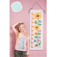 Simy's Studio Stickpackung Messlatte 30x100cm weiß - 1Stk