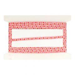 Band Blume-Erdbeere 13mm - 25m