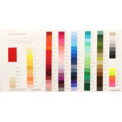 Farbkarte Satinband doppelseitig - 1Stk