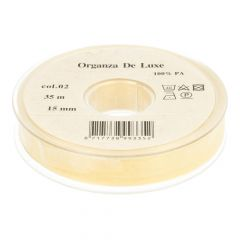 Organzaband de Luxe 15mm 35m