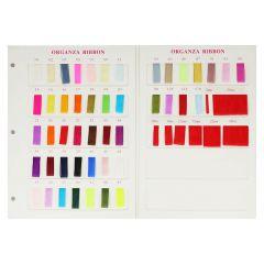 Organza de Luxe Farbkarte - 1Stk