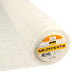 Vlieseline Quilter's Grid 90cm weiß - 15m