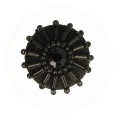 Posamentenknopf mit Stein 30 - 25 Stück