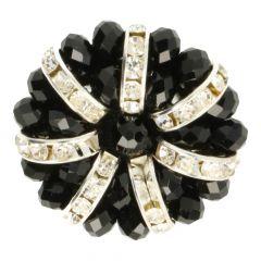 Handgefertigter Diamantknopf Größe 64 - 10st