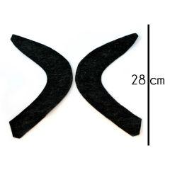 Ärmelfische - 10 Stück - schwarz
