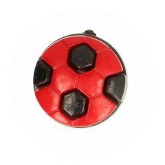 "Knopf Fußball 20"" - 50 Stück"