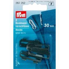 Prym Rockbundverschlüsse ST 30mm - 5 Stück F