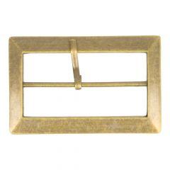 Schnalle Metall in Beutel - 5cm - 6 Stück