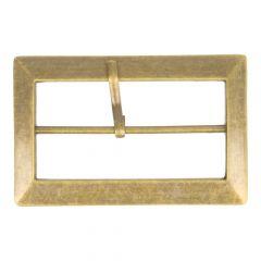 Schnalle Metall in Beutel - 6cm - 6 Stück