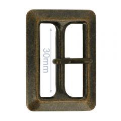 Schnalle Metall 30mm - 6Stk