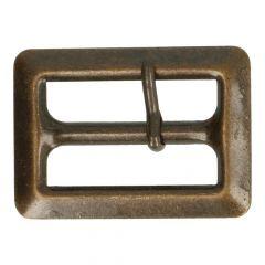Metall Schnallen 3cm - 6 Stück