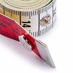 Prym Maßband Color Plus cm-cm mit Knopf 150cm - 5 Stück L