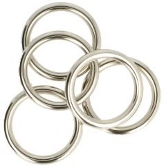 Antex Gardinenring 41x53mm nickel - 25Stk
