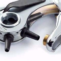 Prym Revolver-Lochzange mit Drehteller 2.50-5.00mm - 3Stk