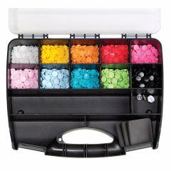 Prym Color Snaps Box 300 Stk. + Werkzeug-Set - 1 Stück VV