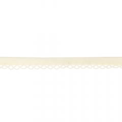 Dox Schrägband mit Spitze - 25m