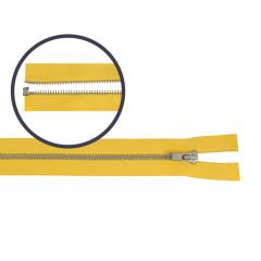 Reißverschluss teilbar schmal 35cm nickel - 5Stk