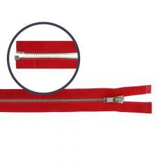 Reißverschluss teilbar schmal 40cm nickel - 5Stk