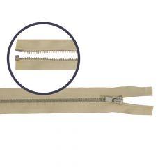 Reißverschluss teilbar schmal 45cm nickel - 5Stk
