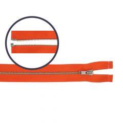 Reißverschluss teilbar schmal 55cm nickel - 5Stk