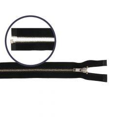 Reißverschluss teilbar schmal 60cm nickel - 5Stk