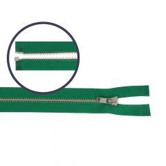 Reißverschluss teilbar schmal 65cm nickel - 5Stk