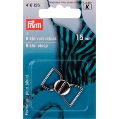Prym Bikini-/Gürtelverschluss MET Haken 15mm -5Stk K