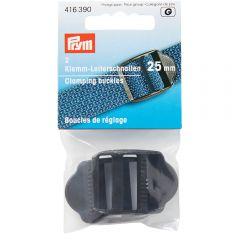 Prym Klemm-Leiterschnallen Kunststoff schwarz - 5x2Stk