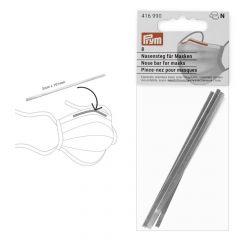 Prym Nasensteg für Mund-Nasen-Masken 3x101mm silber - 10x8Stk
