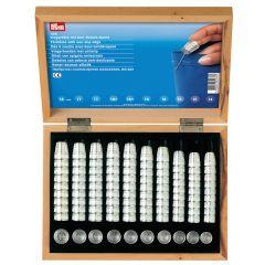 Prym Fingerhut Zinkspritzg. 14-18mm Sort. silber 100st -1Stk