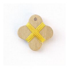 Cohana Garn Spindel aus Holz - 1Stk