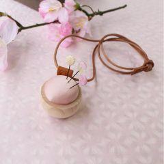 Cohana Sakura Ohajiki Nadelkissen Kette rosa – 1Stk