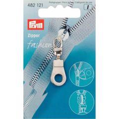 Prym Fashion-Zipper Öse silberfarbig - 5 Stück K