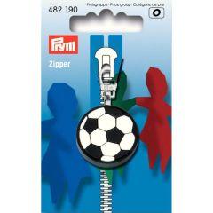 Prym Fashion-Zipper Fußball - 5Stk