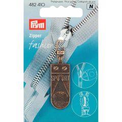 Prym Fashion-Zipper Sportstar altmessing - 5 Stück N
