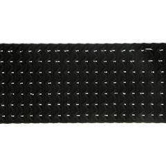 Elastik für Gürtel 60mm schwarz - 10m