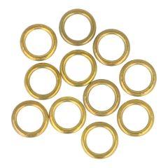 Prym Hohlringe MS 11-16mm goldfarbig 100 Stück - 1 Stück