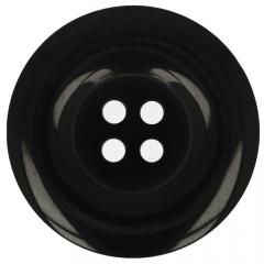 Knopf schwarz Größe 24-60 - 35-50Stk