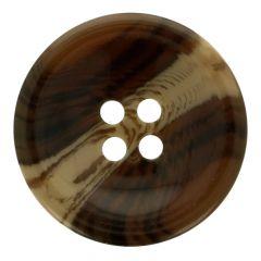 Knopf Mantel Streifen Größe 40 - 25.00mm -35Stk
