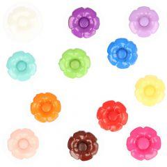 Blumenknöpfe mit austauschbarem Herz Sortiment - Serie